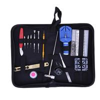 19pcs Watch Repair Tool Kit Set Watch Case Opener Link Flat Head Screw Driver Screwdriver Tweezer