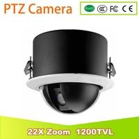 YUNWYE 22X Zoom 1200TVL SONY CCD PTZ High Speed Dome Camera CCTV PTZ Camera Analog Outdoor