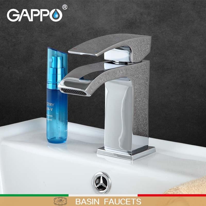 GAPPO rubinetto del bacino della cascata bronzo doccia vasca da bagno rubinetto lavabo tap deck rubinettoGAPPO rubinetto del bacino della cascata bronzo doccia vasca da bagno rubinetto lavabo tap deck rubinetto