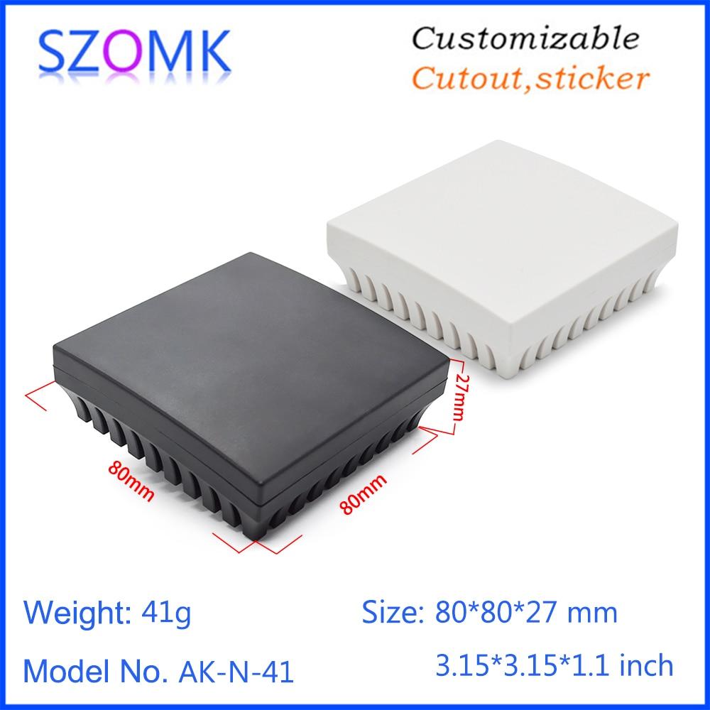 2pcs Black Plastic Project Power Protector Case Junction Box 55*39*27mm  X