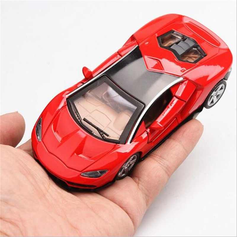 Alloy car 1:36 Supercar model toy car Simulation of the return of the car baking decorations gift for the children