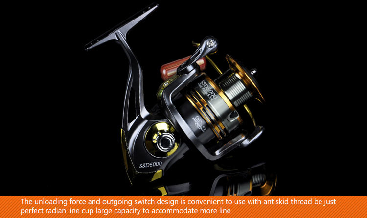 10+1BB Cheap Spinning Reels 1000 2000 3000 4000 5000 6000 7000 Best Saltwater Beach Boat Rock Sea Lure Ice Spinning Fishing Reel  (8)