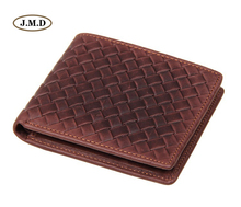 J.M.D Genuine Leather Mens fashion Purse Card Holder New Style Wallet Brown Color Causal Slots Photo 8077C