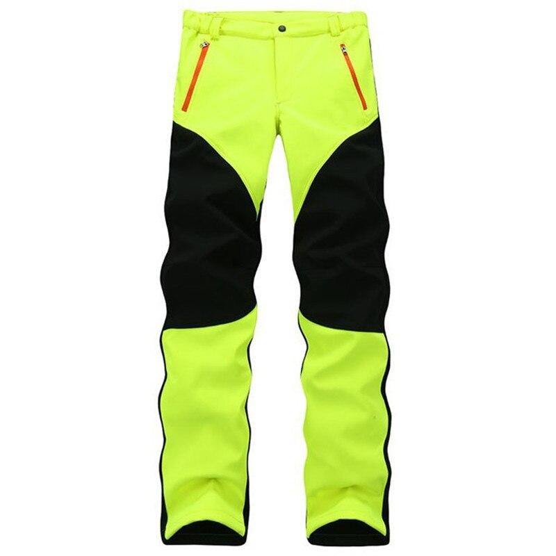 2019 New Winter Men's Fleece SoftShell Windproof Pants Fashion Casual High Quality Man's Pants 34-47 802