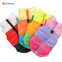 LumiParty Winter Soft Warm Clothing Pet Jacket Vest Cotton-Padded Clothes with Traction Buckle-35