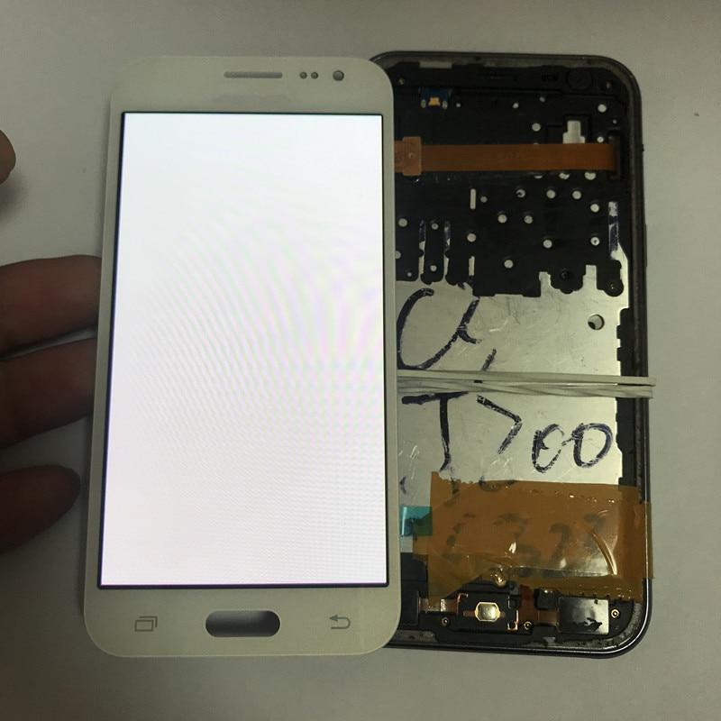 Super AMOLED Burn in Shado For Samsung Galaxy J200 Display J200F J200Y J200H Lcd Display Touch