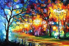 palette knife oil painting  modern oil painting canvas oil painting K378
