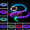 DHL Shippping 10lots 5m DC12V WS2811 Black White PCB 30 60 Leds M Colorful Led Strip