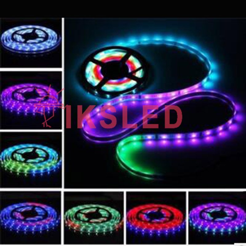 DHL shippping 10lots 5m DC12V WS2811 Black/White PCB 30/60 leds/m,colorful led strip,every 3led addressable,waterproof IP30/IP67 dhl ems 5 lots new om ron timer relay h3dk m1 h3dkm1 24 240vac dc e1