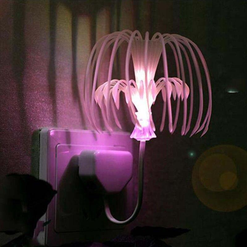Luzes da Noite plug colorido mudou led de Tipo : Night Light