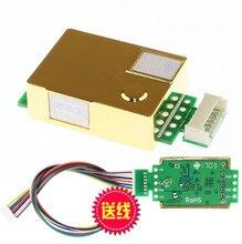 Sensor de co2 infrarrojo MH Z19 para monitor de co2, sensor de dióxido de carbono MH Z19B Módulo de co2 UART PWM, salida serial 0 5000PPM