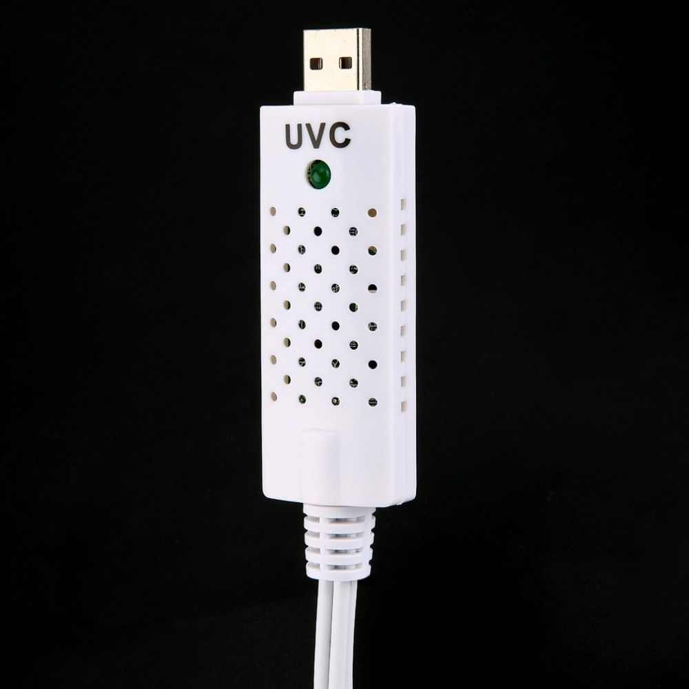 1 zestaw USB2.0 usb adapter przechwytywania wideo karta przechwytująca capturadora wideo dla Win7/8