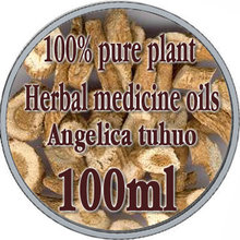 wholesale!!skin care oil 100% pure plant Herbal medicine oil Notopterygium herbal oil 100ml Essential oil Angelica tuhuo