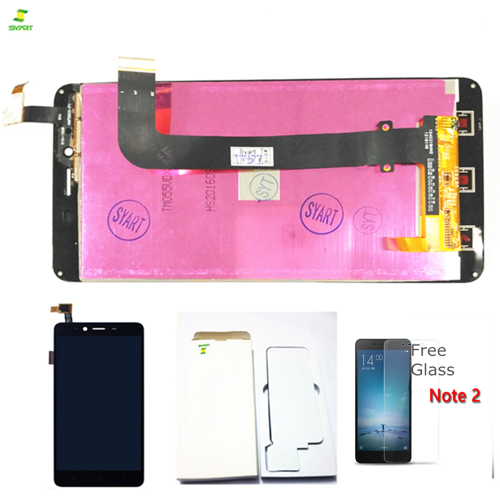AAA++ For XiaoMi Redmi Note 2 LCD Digitizer Replacement LCD Display and Touch Screen Digitizer Glass Replacement Complete LCDs