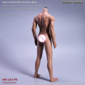 Image 4 - Super Flexible Male Seamless Body Figure 1/6 Scale With Stainless Steel Ball Joints Strong Musle Figure Model Collection Toy