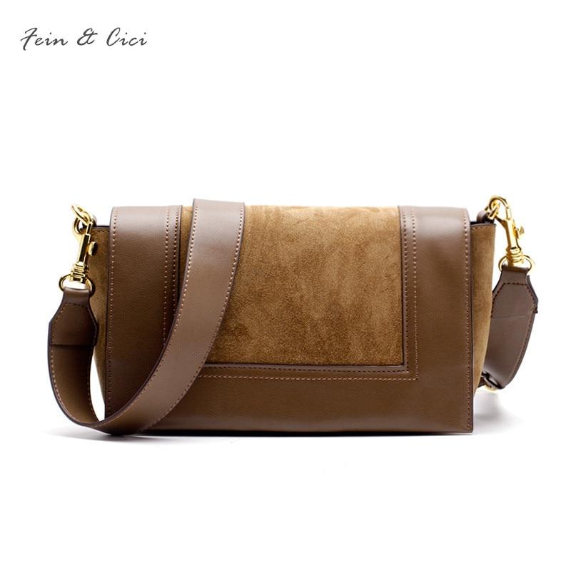 100% genuine cow leather large strap you bag bao bao women luxury brand design messenger bag shoulder bags cross body bag brown