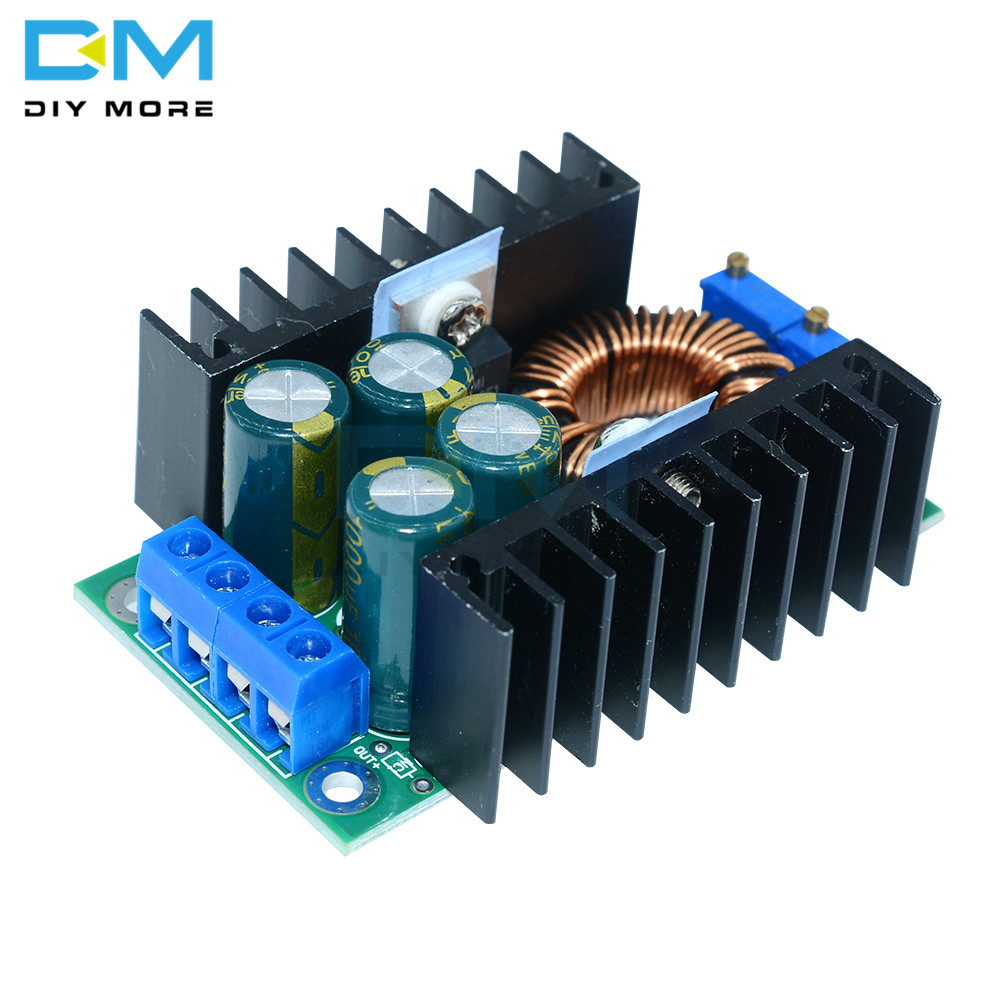 <font><b>DC</b></font> CC Max 9A <font><b>300W</b></font> Step Down Buck Converter 5-40V To 1.2-35V Power Supply Module For Arduino XL4016 LED Driver Low Output Ripple image
