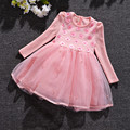 Baby Girl Princess Dress 3-9 Years Kids Autumn & Winter Dresses for Toddler Girl Children Sequined Flowers Clothing