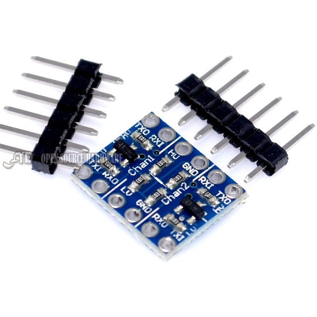5PCS 2 Channel IIC I2C Logic Level Converter Bi-Directional Module 5V to 3.3V