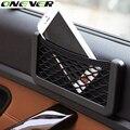 Hot Car Net Redes de 20X8 cm Automotive Bolsos Saco Organizador de Carro com Adesivo Viseira Carro Saco De Armazenamento para ferramentas Syling Móvel telefone