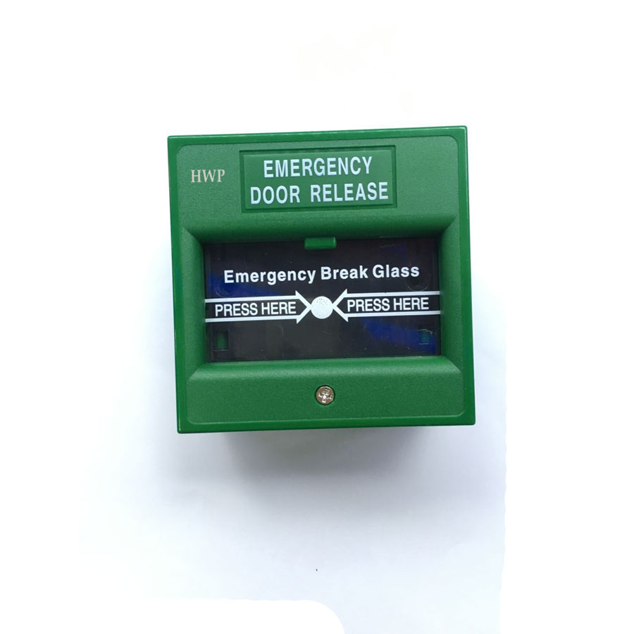 Emergency Door Release Glass Break Alarm Button Emergency Switch Exit Button Access Control