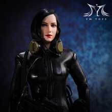 Scale 1/6 Woman Head Sculpt Asian beauty Girl Ada Wong Carved Model Aier head model Fit PH Seamless Female Body Doll