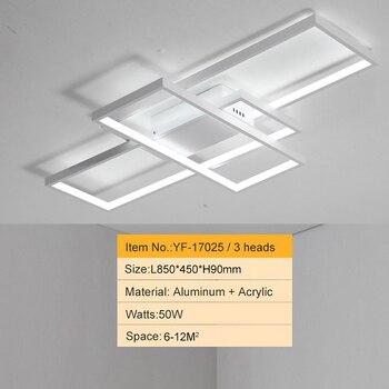 NEO GLeam New Black or White Aluminum Modern Led Chandelier For Living Room Bedroom Study Room AC85-265V Ceiling Chandelier 7