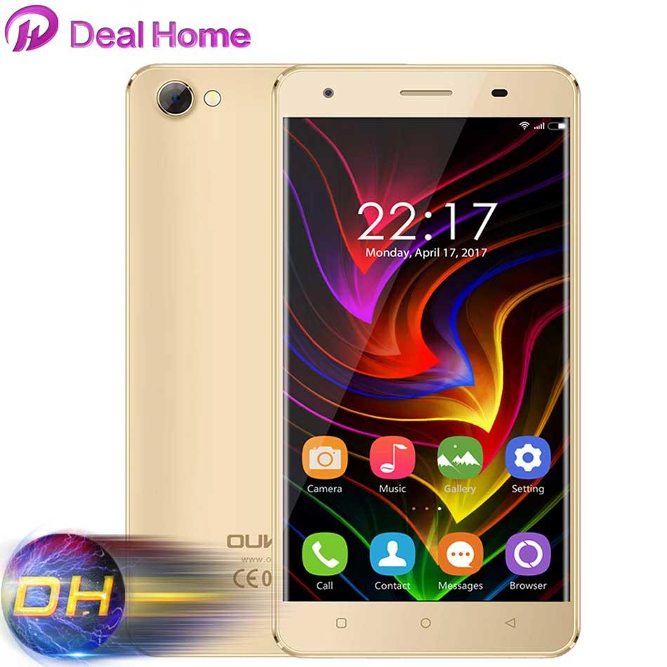 """Цена за Oukitel c5 5.0 """"android 7.0 3 г смартфон 2 ГБ + 16 ГБ 720*1280 hd mtk6580 quad core 1.3 ГГц мобильного телефона 5mp 2000 мАч gps мобильного телефона"""