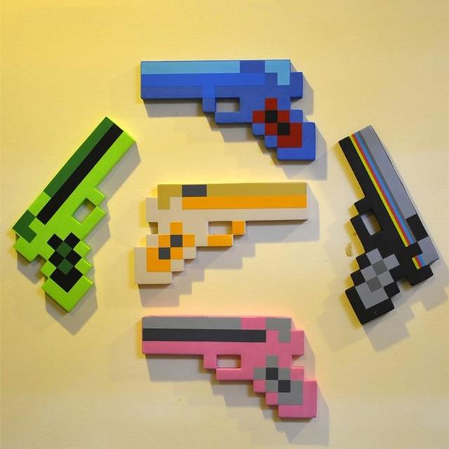 Stücke Minecraft Spielzeug Minecraft Foam Schwert Spitzhacke Gun - Minecraft spiele minecraft spiele