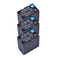3X 7800mAh SSL JVC70 JVC70 SSL JVC70 Camcorder Battery with USB Output for JVC SSL JVC50 GY HMQ10 GY HM200 GY LS300 Batteries