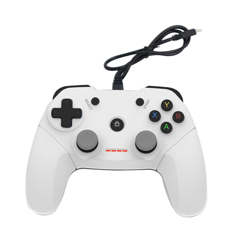 IMECOO New Arrival Classical Wired Gamepad Joystick USB Game Controller Gamepad For Android System For PC