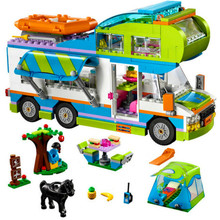 цена на Good Friends Girl Series The Motorhome Compatible LegoINGLYs Friends 41339 Building Blocks Bricks Toys Children Christmas Gift