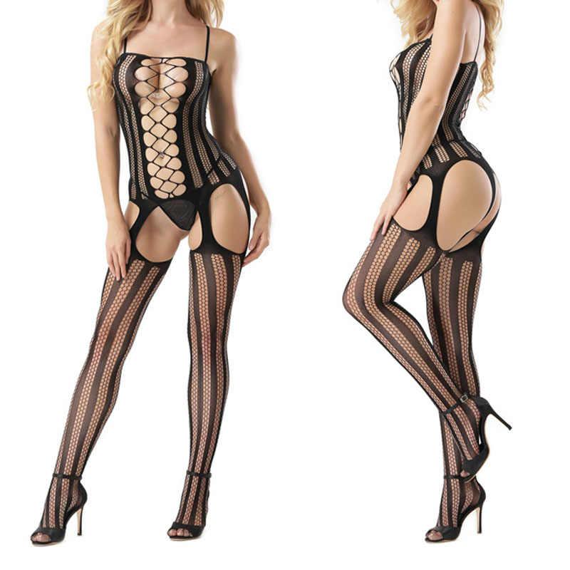Del Sesso porno Baby doll Chemise Lingerie Sexy Hot Erotic Costumi Cavallo Aperto Biancheria Intima Sexy Sexy Degli Indumenti Da Notte A Rete Intimo Vestito