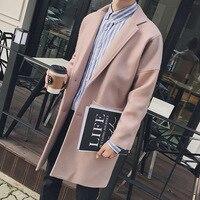 Для мужчин S Тренч капюшон в стиле панк с длинным рукавом Для мужчин Кожаная куртка дешевые Пальто для будущих мам особенно наряд зима Демис...
