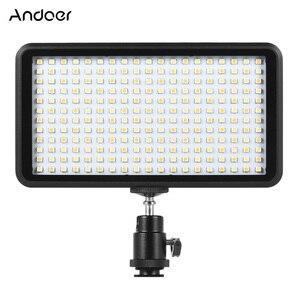 Image 1 - Andoer Ultra thin 3200K/6000K LED Light Panel Lamp Studio Video Photography 228pcs Bead for Canon Nikon DSLR Camera DV Camcorder