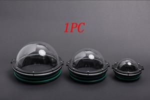 Image 1 - 1 Máy Tính 90/110/130/160 Mm Rov Acrylic Vòm Che Dưới Nước Robot Chụp Ảnh Gimbal Hình Cầu Viên các Bộ Phận Cho Auv
