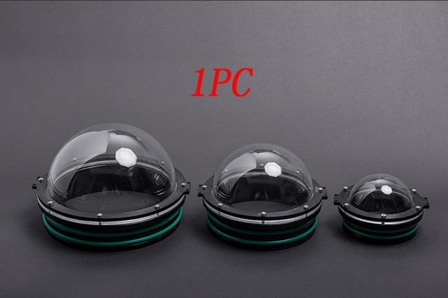 1 Máy Tính 90/110/130/160 Mm Rov Acrylic Vòm Che Dưới Nước Robot Chụp Ảnh Gimbal Hình Cầu Viên các Bộ Phận Cho Auv
