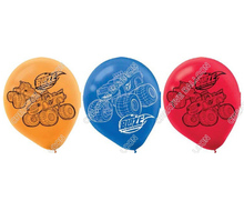 12pcs lot Blaze Monster Machines Latex Balloon Birthday Party Supplies Kids font b Toys b font