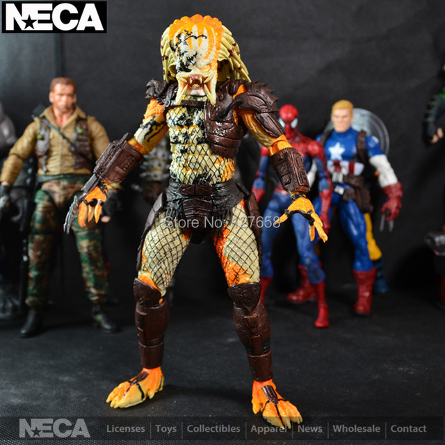 US $129 99 | 2013 SDCC venue Limited Edition 7 inch Predator Bad Blood  Limited Editionaction figure -in Action & Toy Figures from Toys & Hobbies  on
