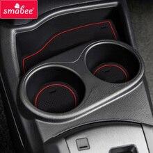 Gate slot mats For Toyota PRIUS C aqua 2012-2016 15PCS HYBRID Car Anti Slip Mat, Non-slip Interior Door Pad/Cup