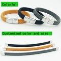Colorido poder 1500-2000 íons sports titanium aço pulseira de pulso banda melhorar dormir 4-em-1 energia pulseiras bangle