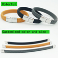 colorful Power 1500-2000 ions Sports Titanium Steel Bracelet Wrist Band Improve Sleeping 4-in-1 Energy Bracelets Bangle