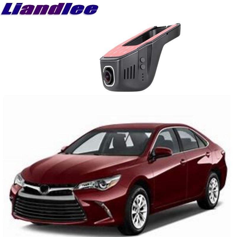 все цены на Liandlee For Toyota Camry XV30 XV40 XV50 XV70 2002~2018 Car Black Box WiFi DVR Dash Camera Driving Video Recorder онлайн