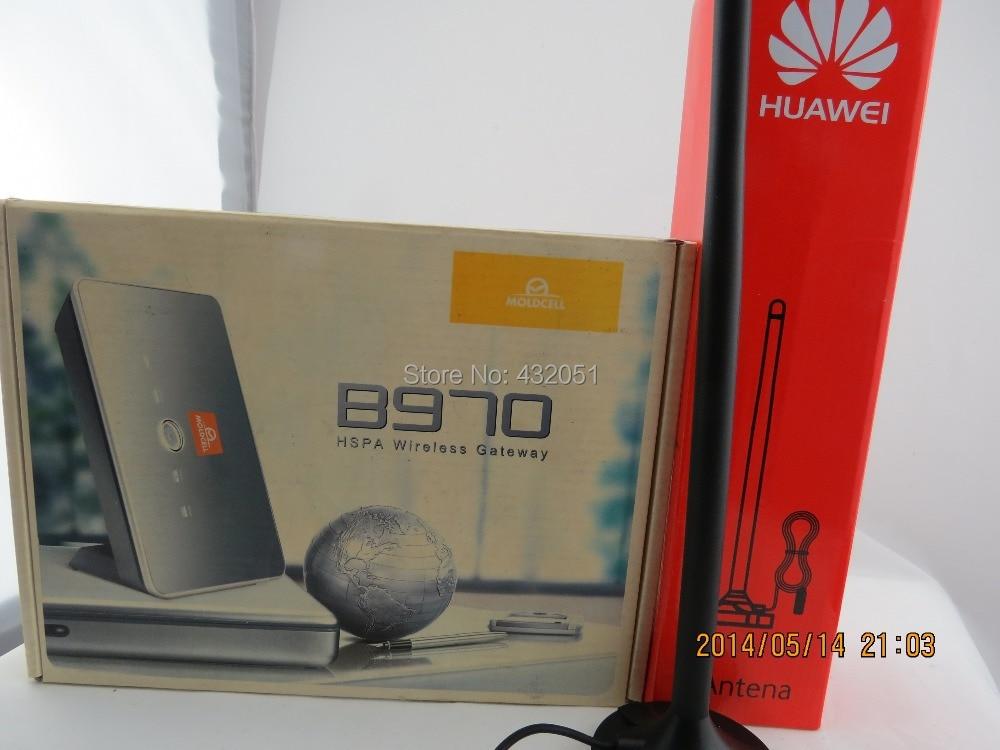 Free shipping+Huawei SMA external antenna +Huawei B970 Router Unlock