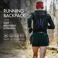 AONIJIE Pro Outdoor Lightweight Hydration Backpack Rucksack Bag Vest for 2L Water Bladder Hiking Camping Running Marathon Race