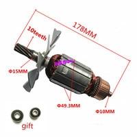 AC 220 240V Armature Motor Replacement for MAKITA 5103N 5201N Circular Saw