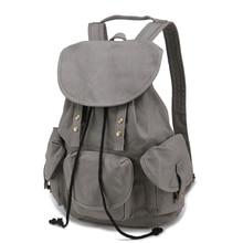 2016 отдыха и путешествий холщовый мешок средней школы студенты сумка женщины причинно рюкзак A002