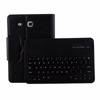 For Samsung Galaxy Tab E 9 6 T560 2 In 1 Detachable Bluetooth Keyboard Leather Case