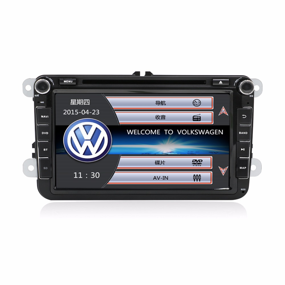 bosion 8 inch Touch Screen 2din Car DVD VW Golf Polo Jetta Passat Tiguan with GPS