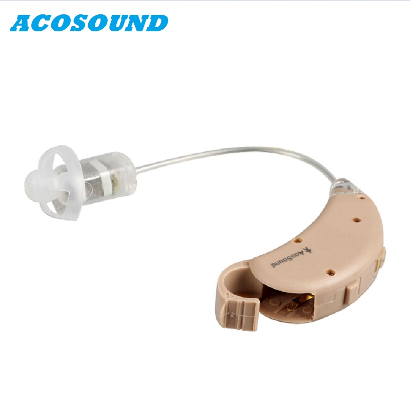 Acosound 4 Canaux Oreille Aide Auditive audition Amplificateur Numérique Auditifs Récepteur Dans Canal D'oreille Médicale Appareil Auditif